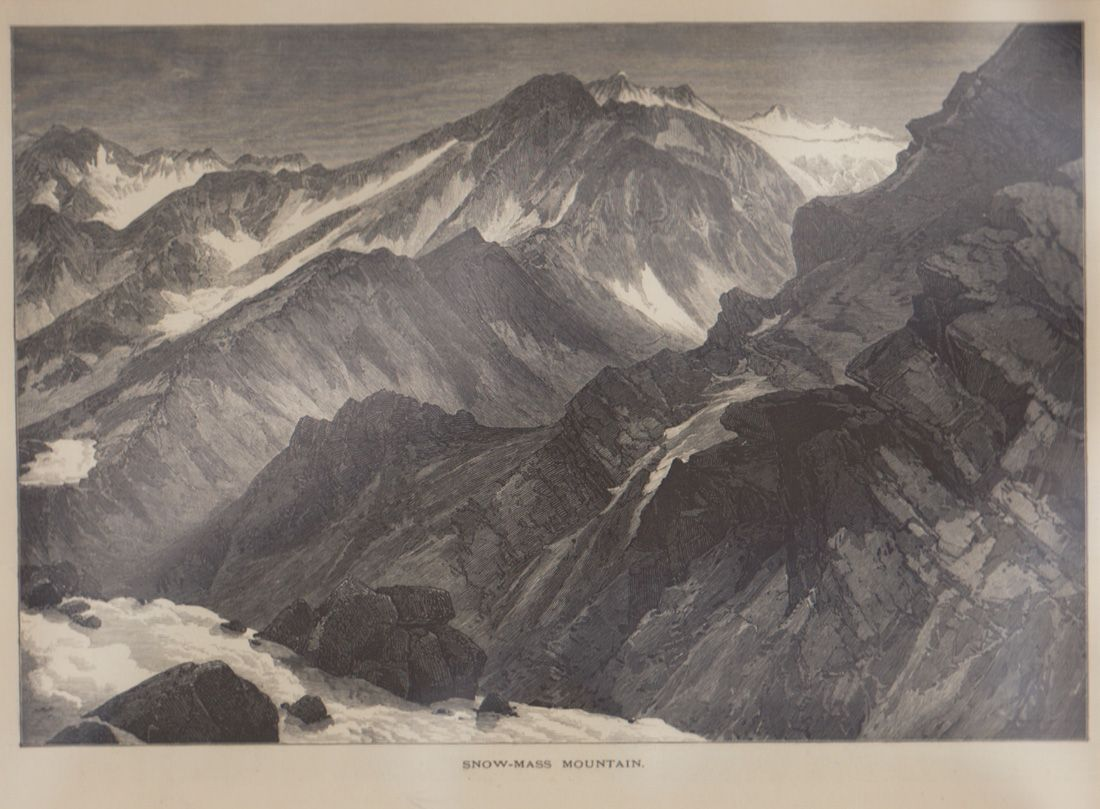 Thomas Moran Snowmass Mountain