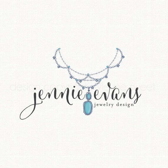 Jewelry Logo Design Boho Logo Design Premade by ...