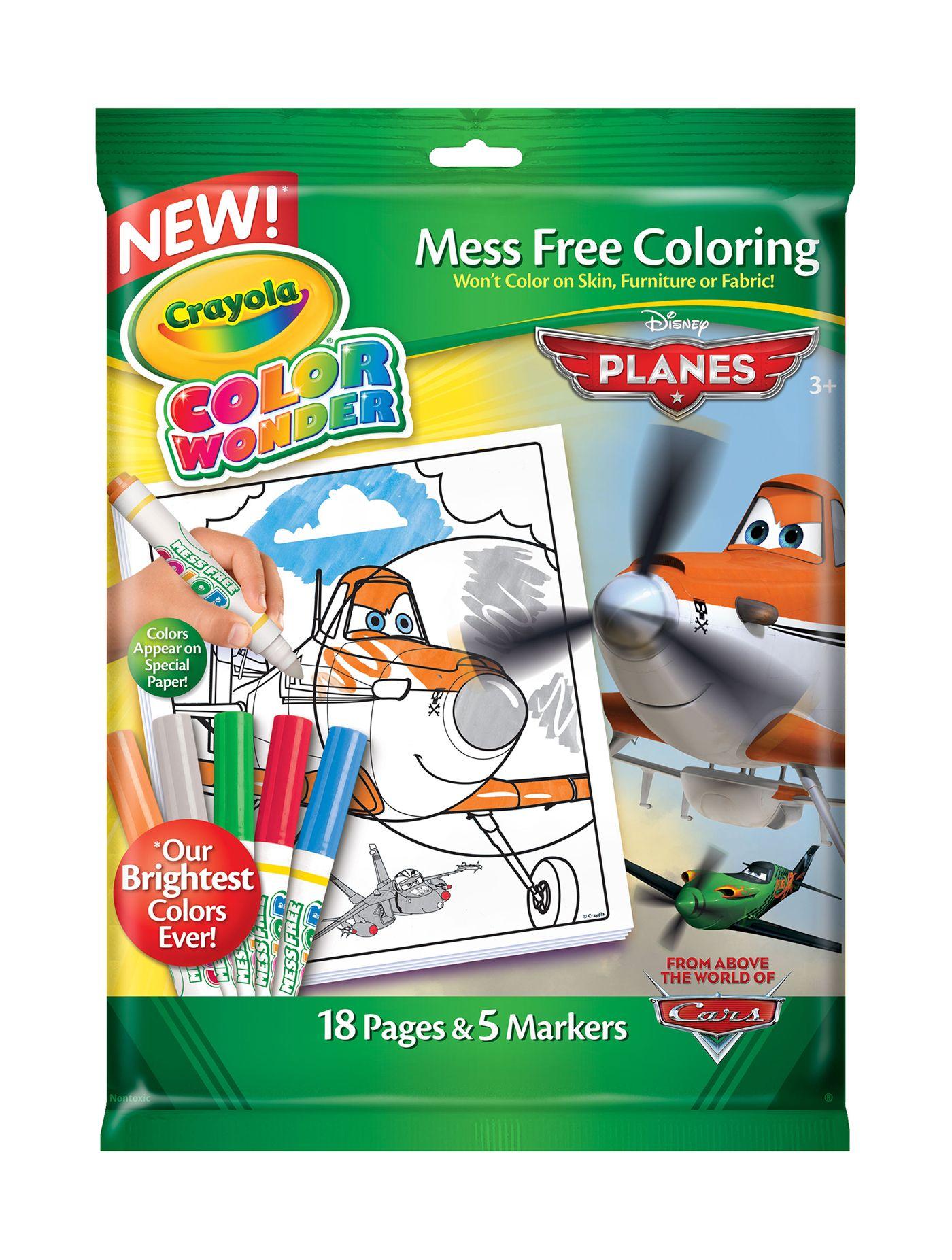 CRAYOLA Color Wonder Coloring Book Set Disney Planes 752134 | Disney ...