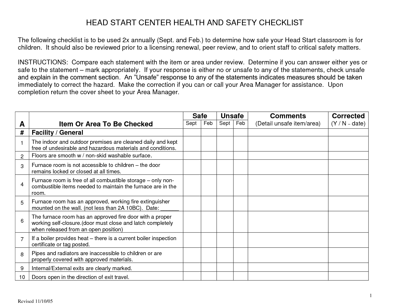 Outdoor Safety For Preschoolers