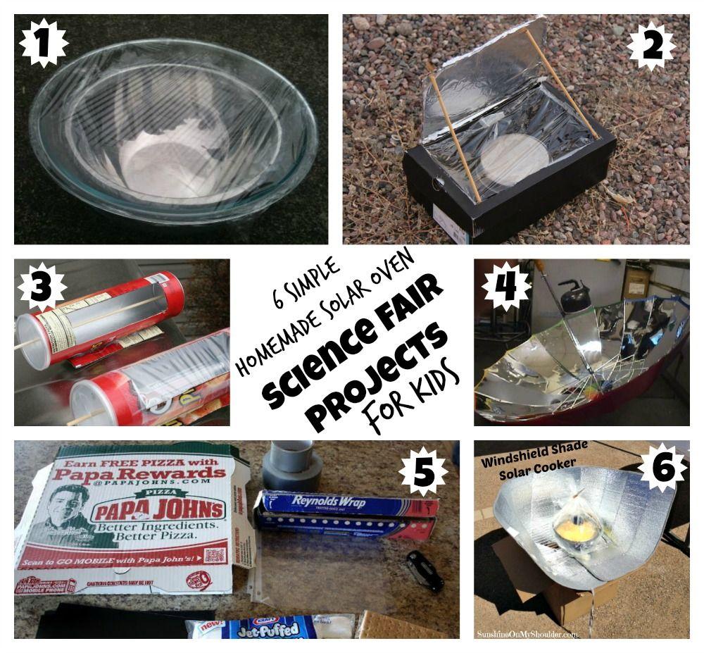 Workbooks solar energy worksheets for kids : 6 Homemade Solar Oven Projects for Kids   Solar, Oven and Homemade