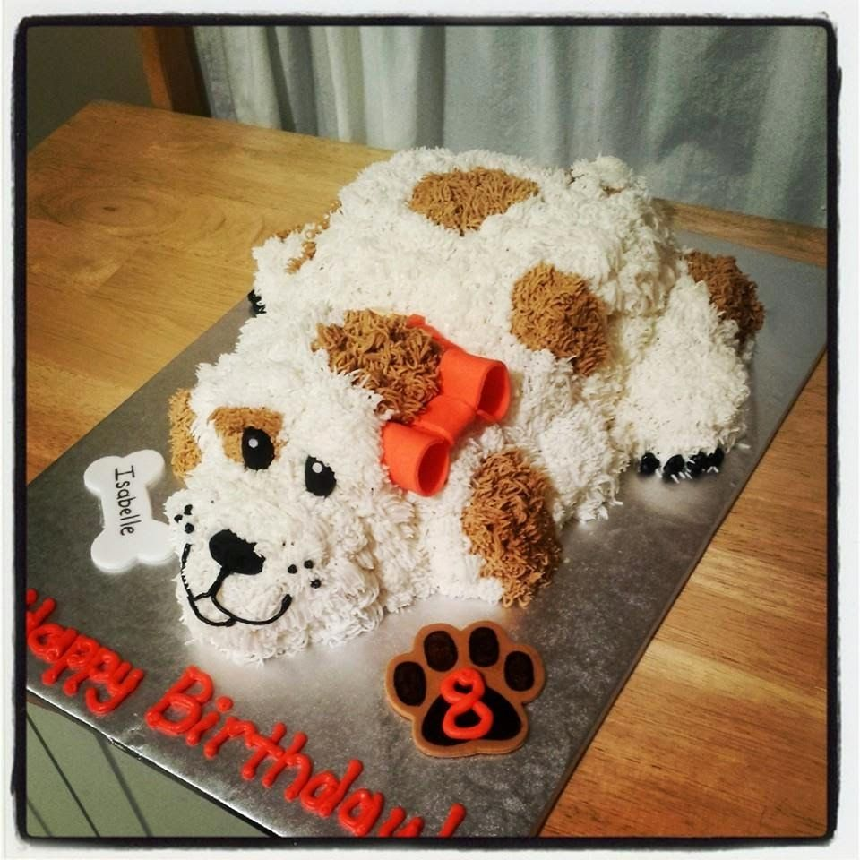 Cassieus cakes and sweets puppy birthday cassieus cakes and