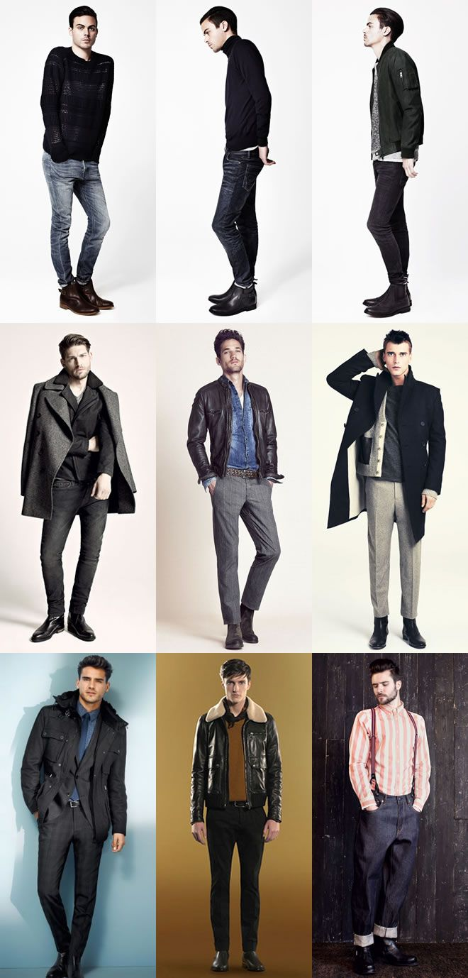 Men's Chelsea Boots Lookbook Outfit Inspiration | Men's Fashion ...