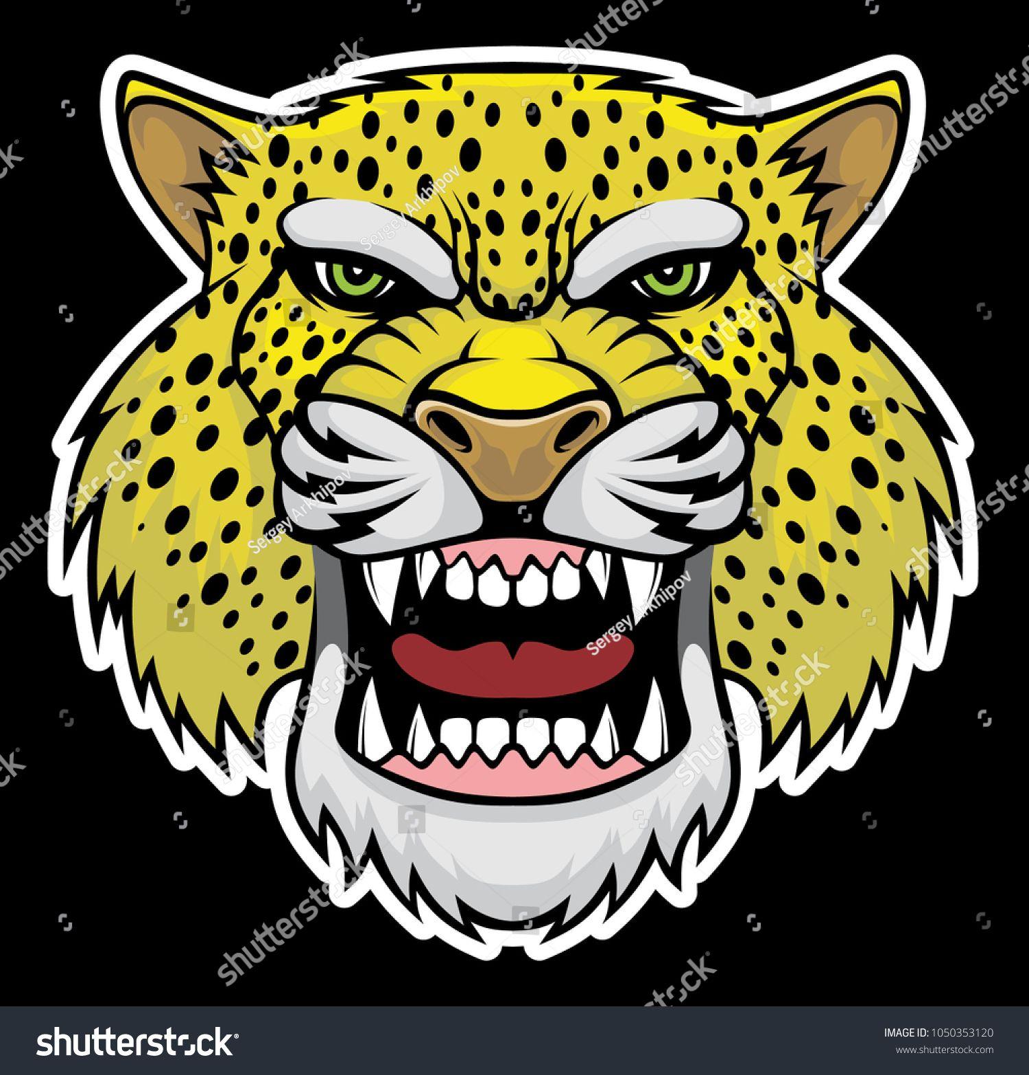 Angry Jaguar: Иллюстрации, Векторная