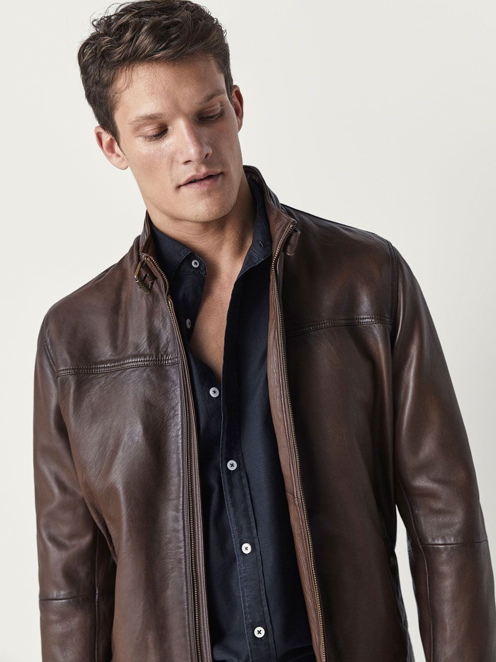 9d265068f1e NAPPA JACKET WITH BUCKLE DETAIL - Men - Massimo Dutti Real Style
