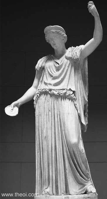 Hera, the Greek Goddess of marriage and women. Love ...