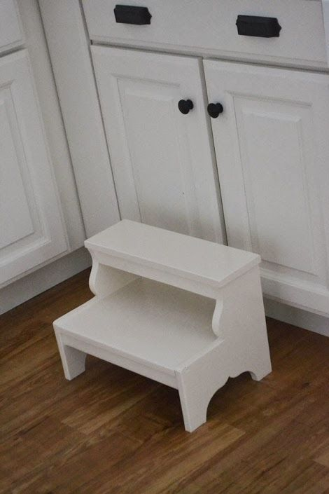 Ana White Build A Easy Vintage Step Stool Free And
