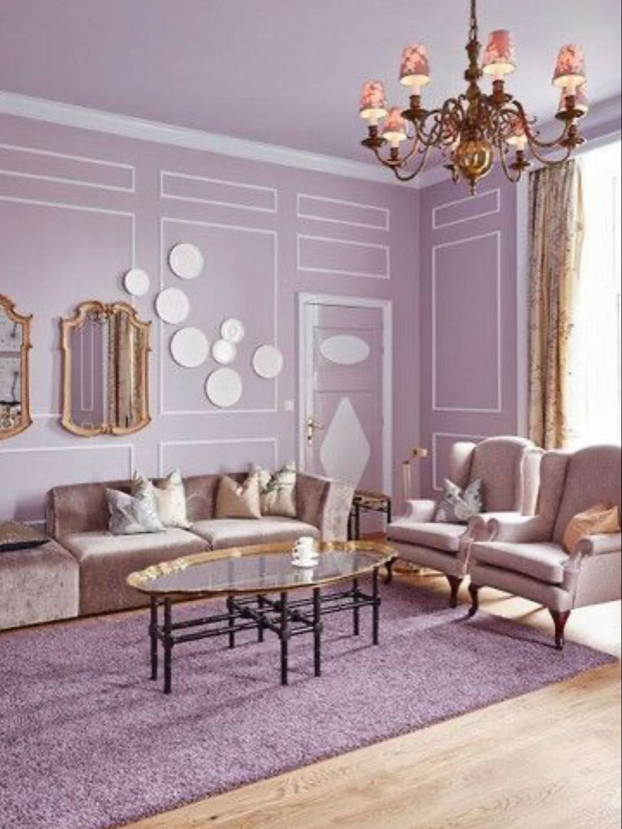 Room ideas we've tapped top interior designers to share their insider secrets, tips, and. Pin by Marriam Javed on PURPLES~*~   Purple living room ...