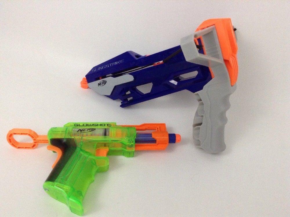 Nerf N-Strike Elite Slingstrike Slingshot Pistol Gun 8+