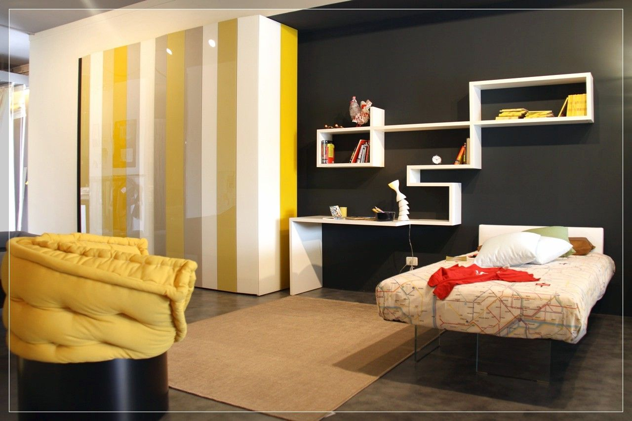 ikea bedroom ideas, 5 Yellow Grey Black Bedroom - Home Properti