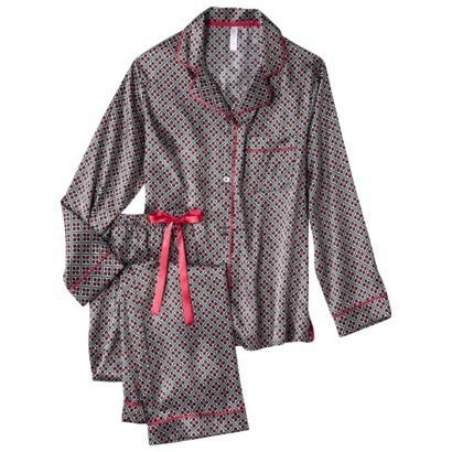 Gilligan & O'Malley® Women's Satin Pajama Set - Assorted Patterns ...
