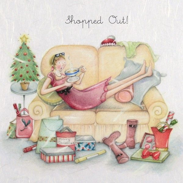Cards » Shopped Out » Shopped Out - Berni Parker Designs