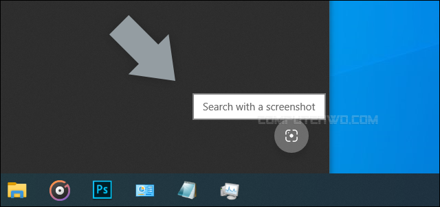 تفعيل خاصية البحث عن الصور بسكرين شوت Search With Screenshot الجديدة في ويندوز 10 واحدة من الميزات الكثيرة والمفيدة حقا التي آتي بها تحديث مايو 2020 ل Search