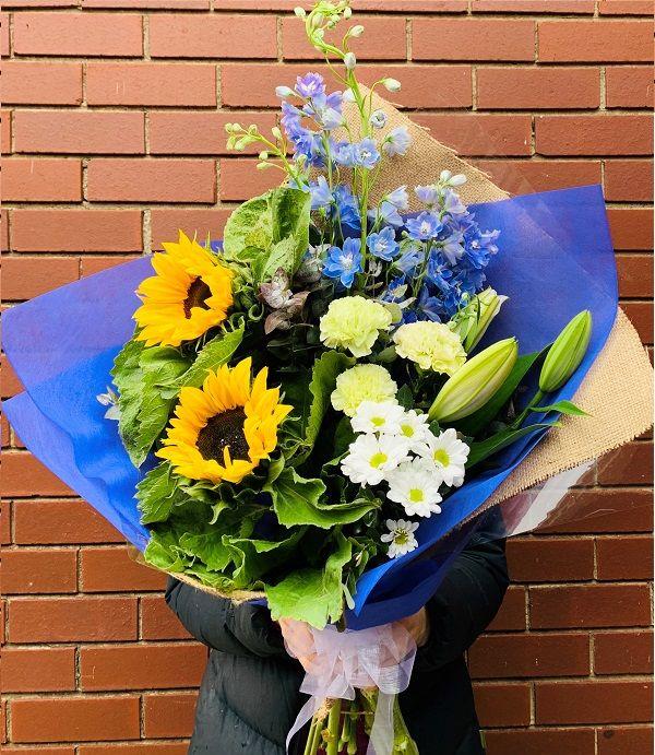 Sunny Day Sunflower Bouquet Best online flower