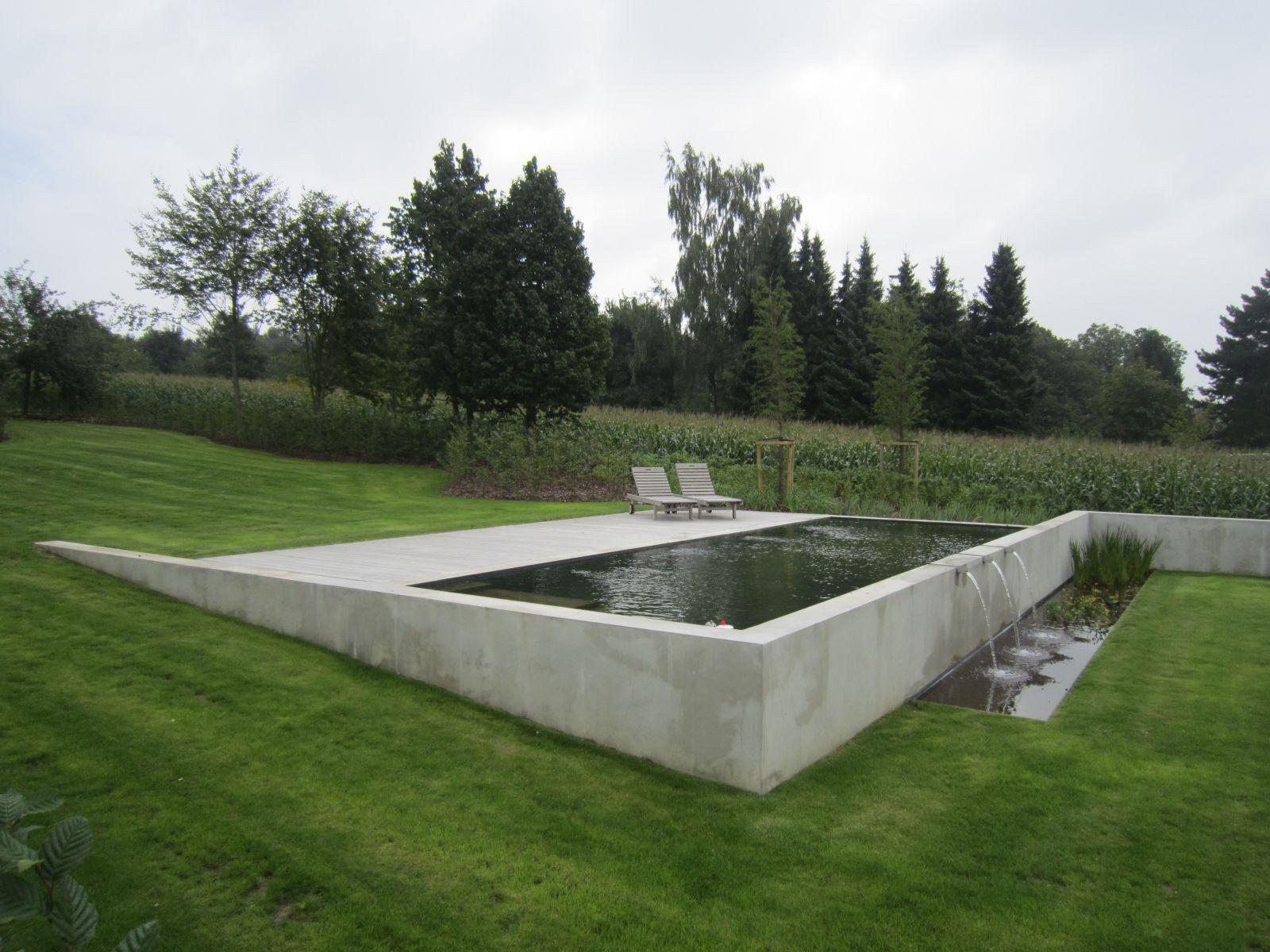 Patrick verbruggen architecture pools swimming pool for Pool design hillside