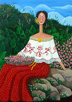 A Flower Girl by Mayo Hassan -