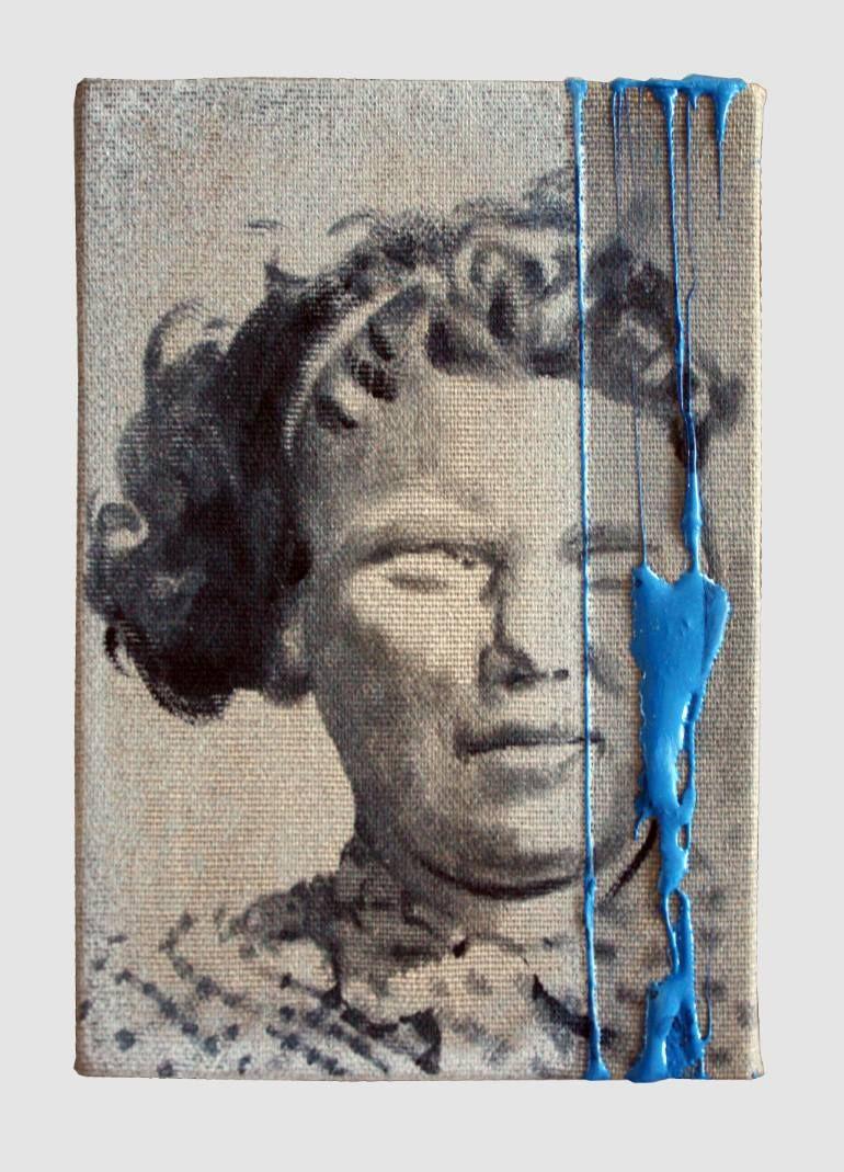 "Saatchi Art Artist János Huszti; Painting, ""Prisoner 4 SOLD"" #art"