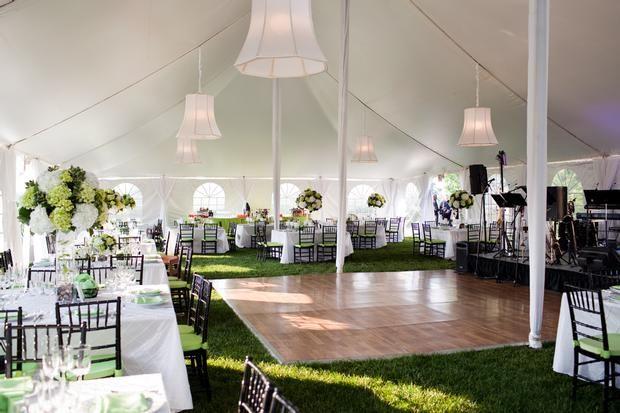 Garden Wedding Ceremony & Reception
