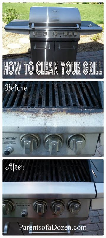 how to clean your grill cleaning pinterest nettoyage astuces et truc. Black Bedroom Furniture Sets. Home Design Ideas