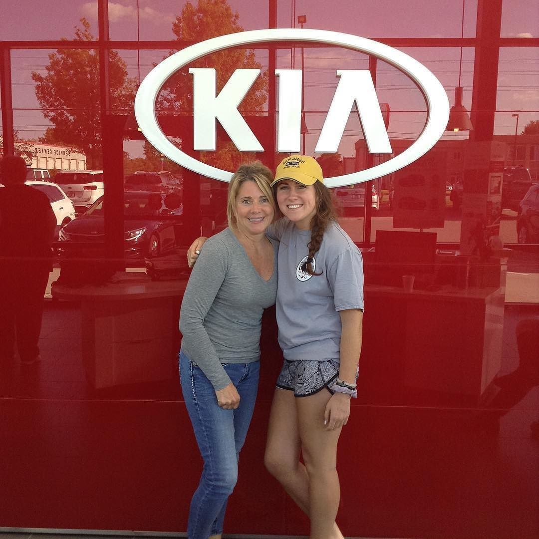 Thanks Corie And Madison For Coming In To Lawrence Kia And Buying Madison Her First Vehicle A Mazda Cx 7 From Ryan And Pena Congrats Madi Kia Mazda Cx 7 Mazda