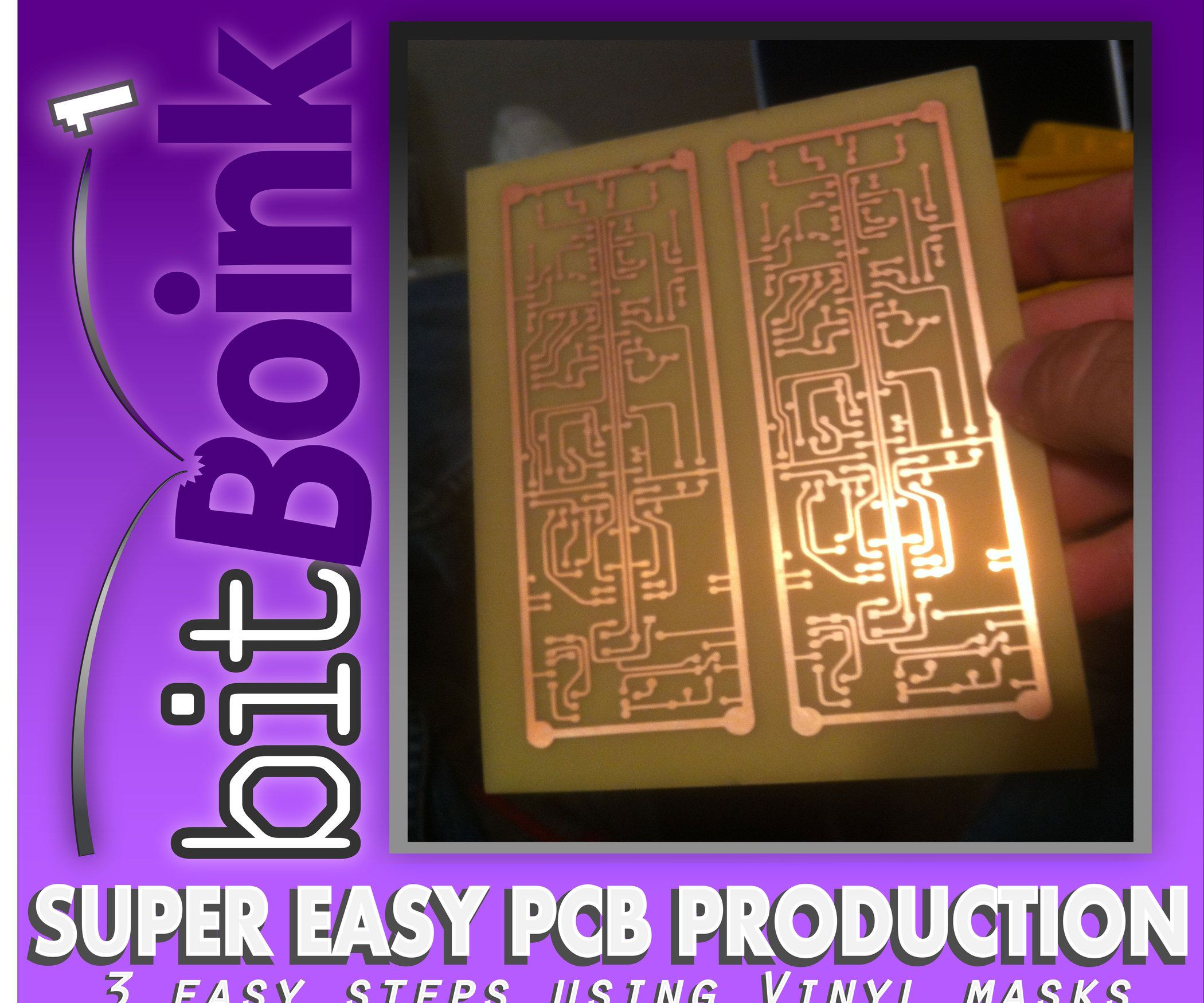 Fast And Easy Pcb Prototyping With Vinyl Circuits Circuit Skills Board Etching Youtube One Of The Most Aggravating Things When Creating Diy Is Making Up Till Now Methods Require Alot Work Time On