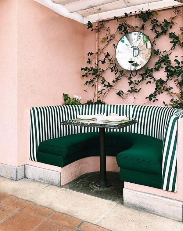 Killer color combo: blush & emerald | Farben