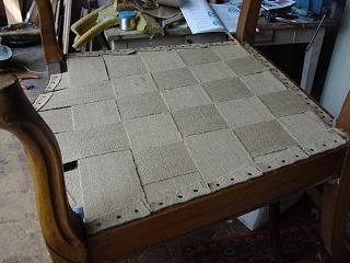 r nover un fauteuil de a z upholstering pinterest upholstery armchairs and decoration. Black Bedroom Furniture Sets. Home Design Ideas