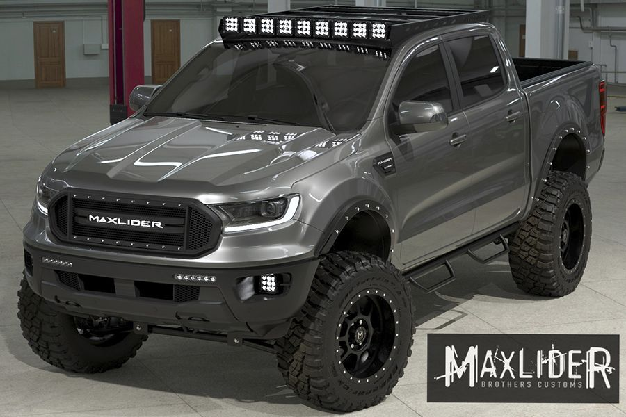 Maxlider Bros Delve Into Trucks With Their 2020 Ford Ranger Ford