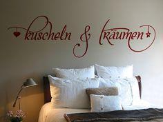 Schönes Wandtattoo fürs Schlafzimmer. | sprüche | Pinterest | Wand ...