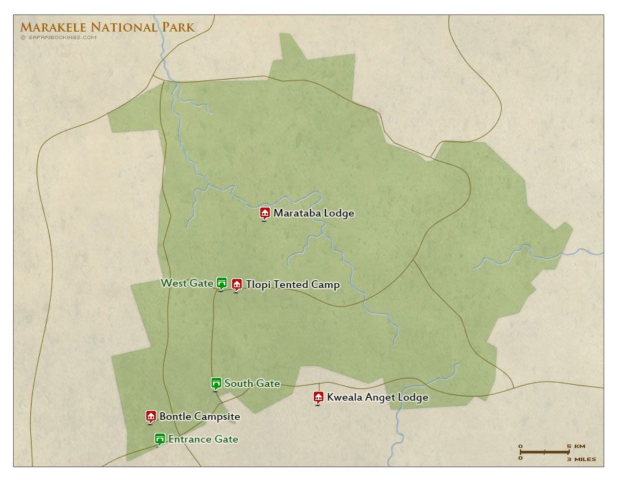 tented camps in Marakele National Park