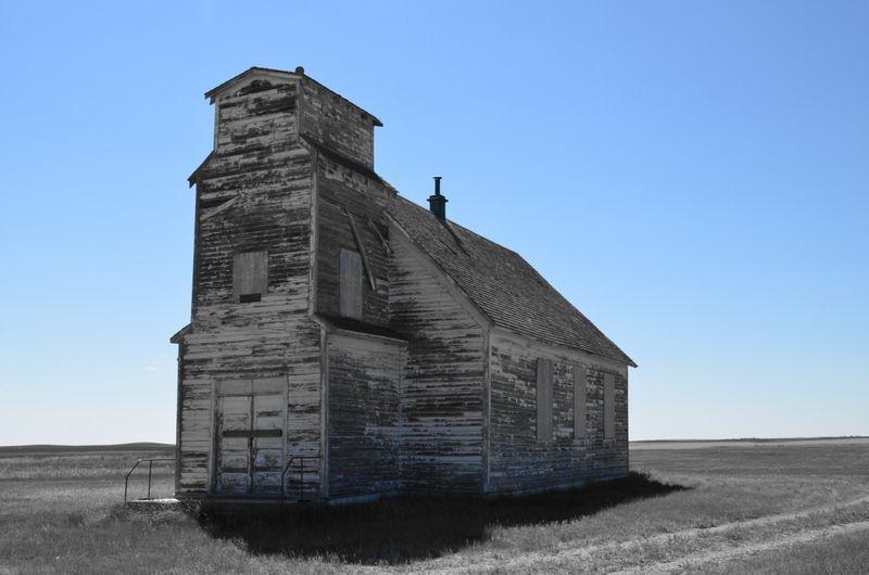 photo by janet kaubisch kampijon  church near by bowisland alberta