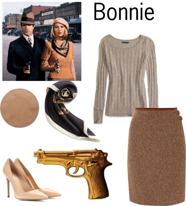Simple DIY Halloween Costumes - Bonnie and Clyde | From ...