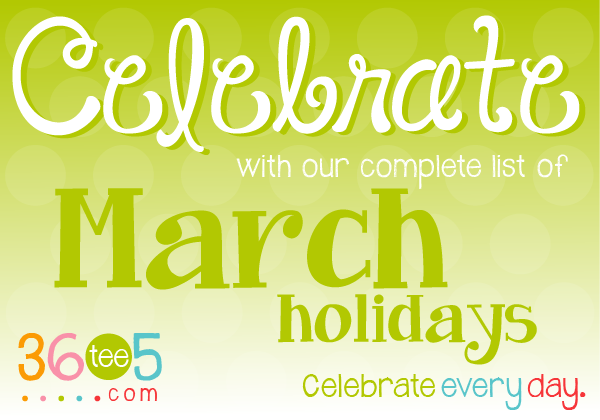 Bizarre Holidays In March