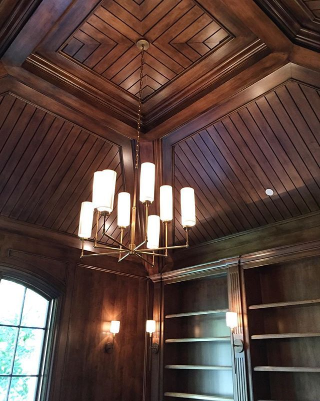 library ceiling #jenniferbevaninteriors | Ceiling lights ...