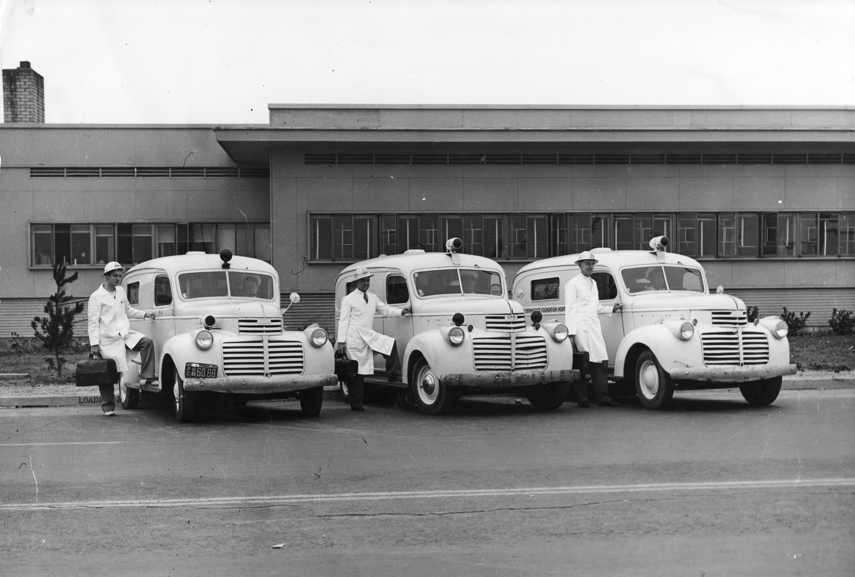 1946 Gmc Ambulance Fire Trucks Old Classic Cars