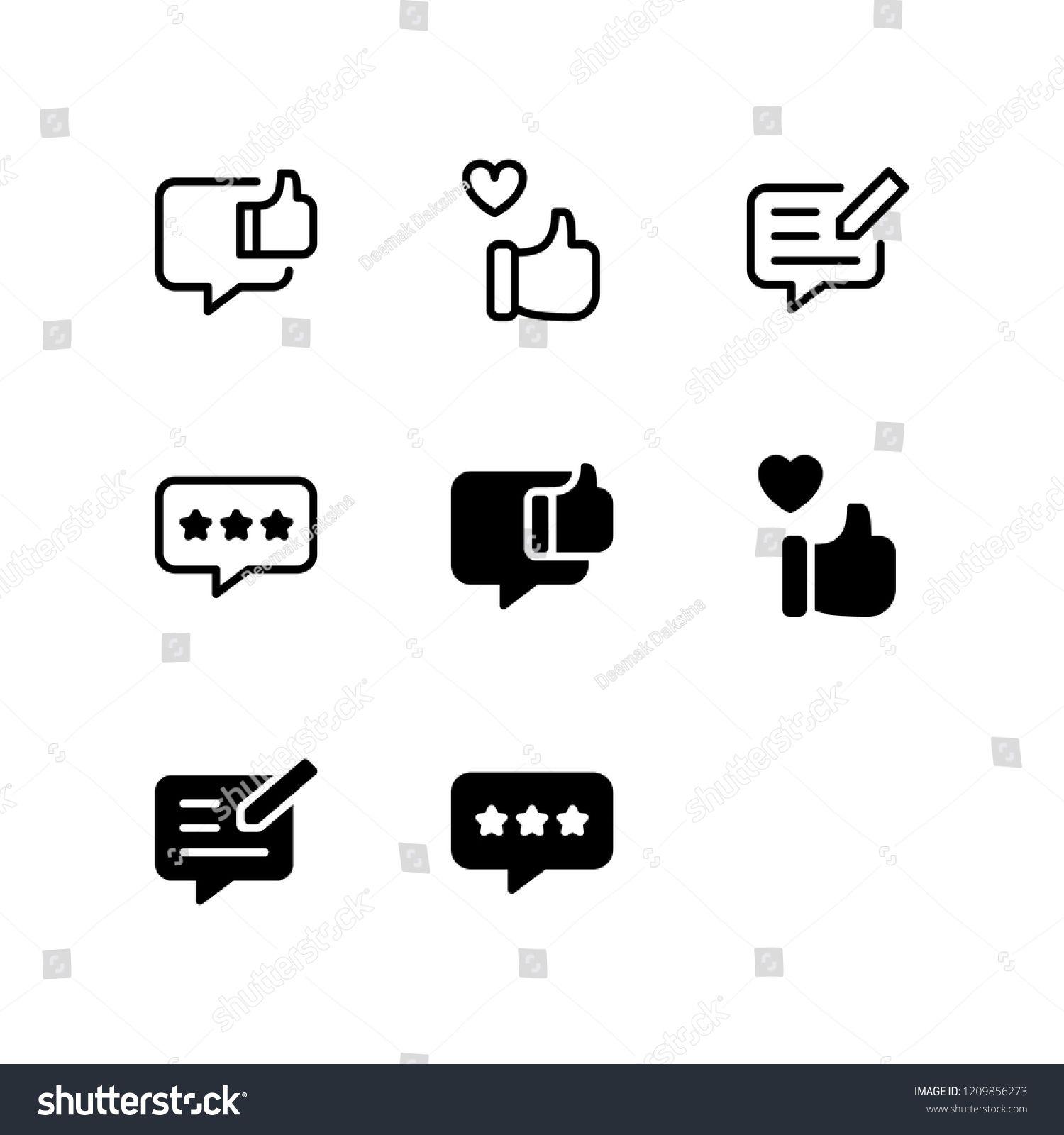 Feedback Icon Design Feedback Rating Review Like Satisfaction Icon Logo Vector Symbol Set Sign Design Button Vector Logo Icon Logo Design