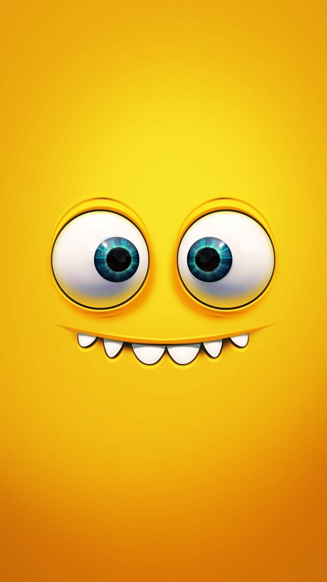 Smiling Face Hd Wallpaper Download Emoji Wallpaper Cartoon Wallpaper Crazy Wallpaper