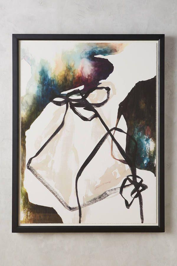 Sara Brown Dark Strings I Wall Art