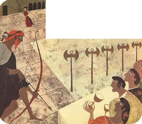 comparing themes in the odyssey and the aeneid