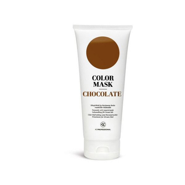 KC Professional Color Mask - Chocolate (200ml) ($20) ❤ liked on Polyvore