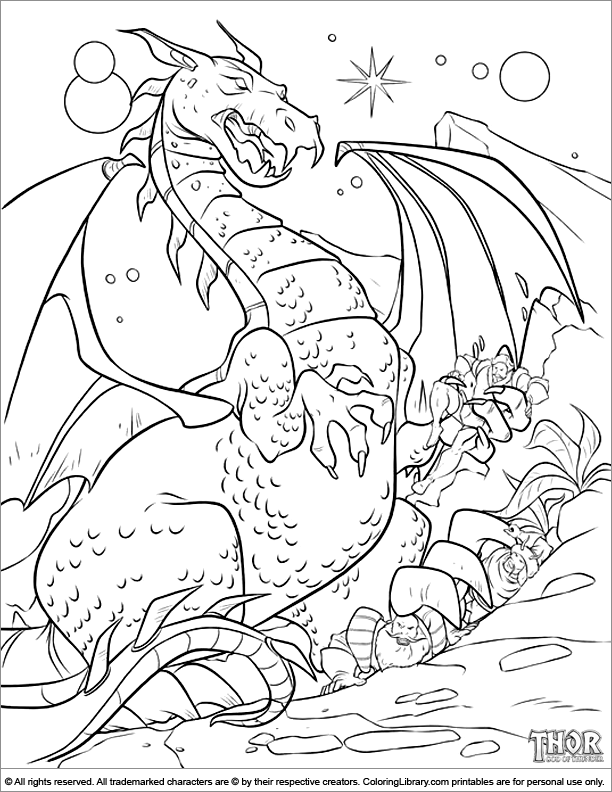 Thor coloring picture   4 Kids Coloring Pages   Pinterest   Thor