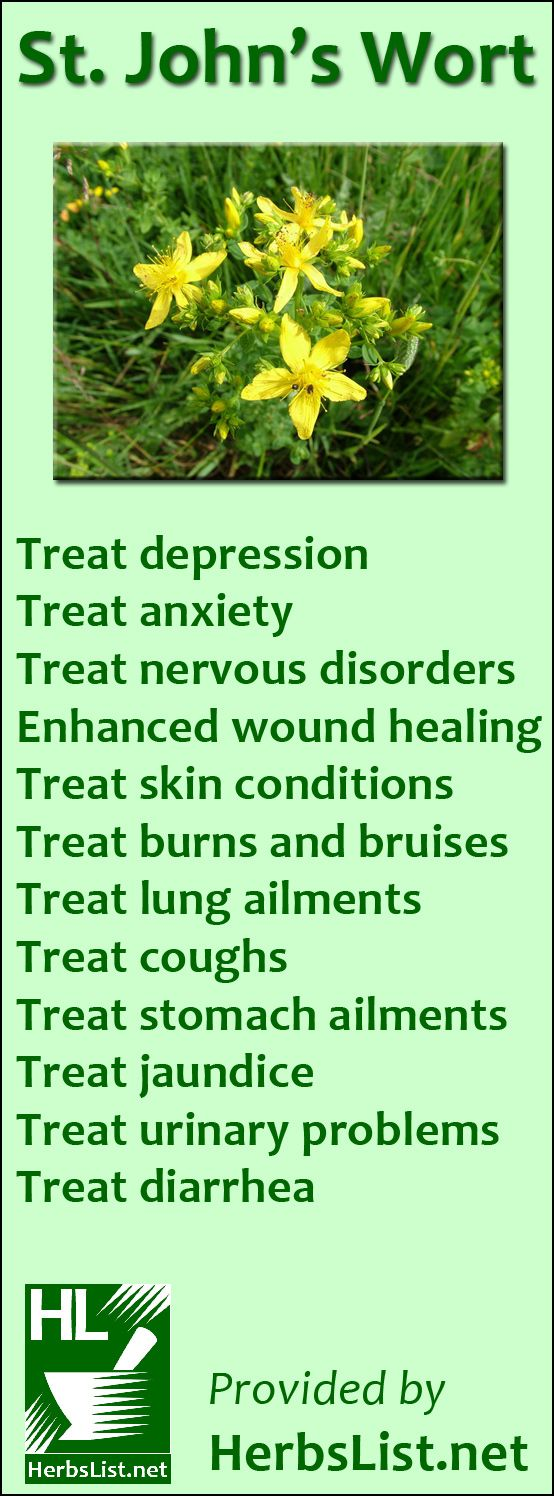 Natural Herbs To Use With Antidepressant