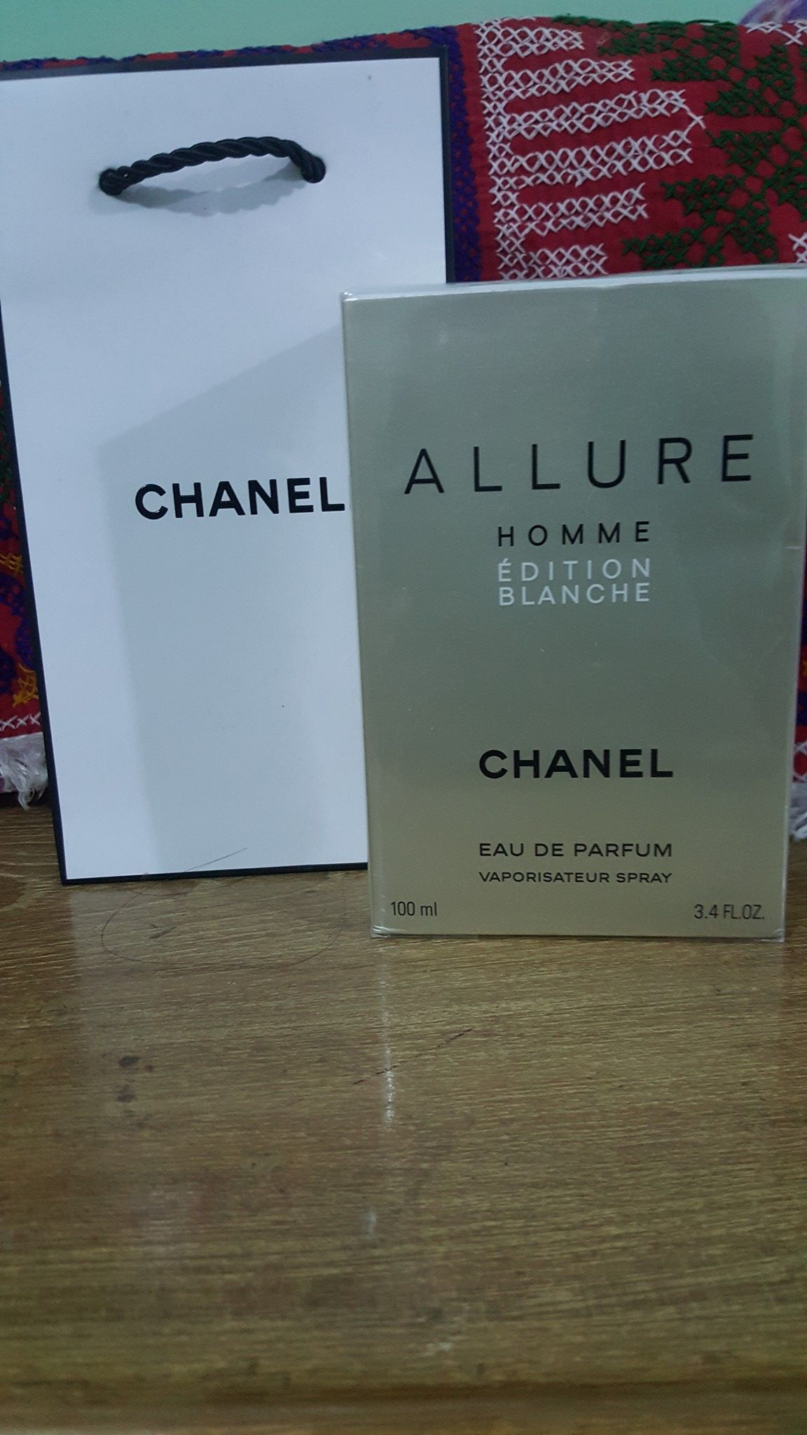 Chanel Allure Homme Edition Blanche Edp For Men 100ml 100