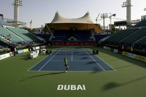 The Dubai Duty Free Tennis Stadium Tennis Courts Around The World