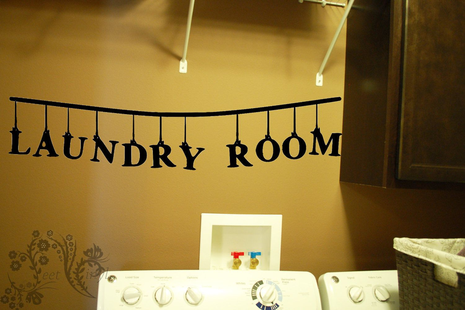 Laundry Room - Wall Decals - Wall Decal - Wall Vinyl - Wall Décor ...