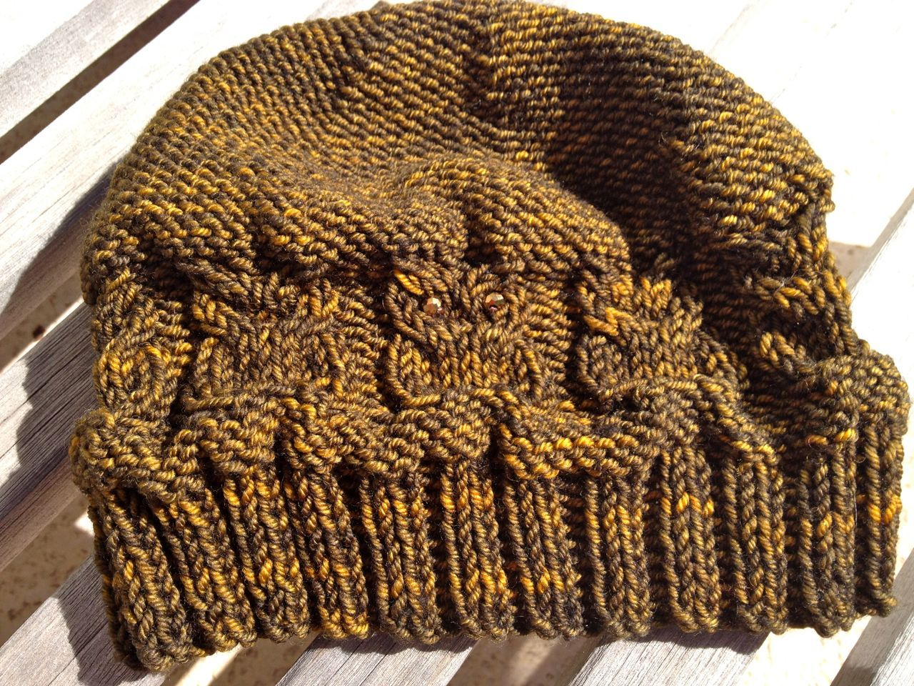 Woot hoot hat a free pattern knit hats headbands gloves hoot hat a free pattern owl hatknit bankloansurffo Image collections