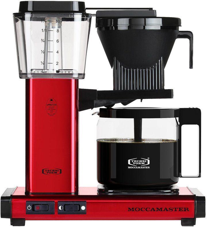 Kbg Red Metallic 10 Cup Coffee Maker Best Drip Coffee Maker