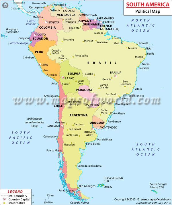 Ive been all the way around South America including going thru the