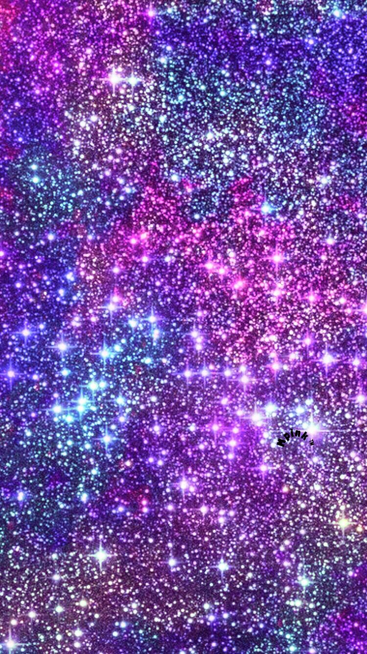 Glitter Stars At Midnight Wallpaper Glitter phone