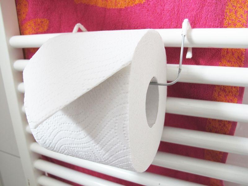 Toilettenpapierhalter, Klopapierhalter, Heizung, Draht, Diy, Selbermachen,  Upcycling, Recycling,
